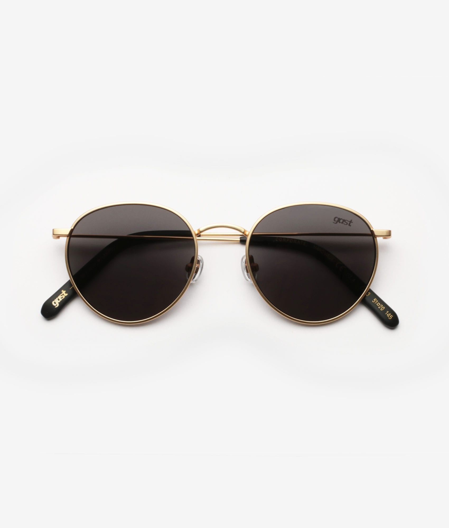 CORPORATE Matte Gold Gast Sunglasses