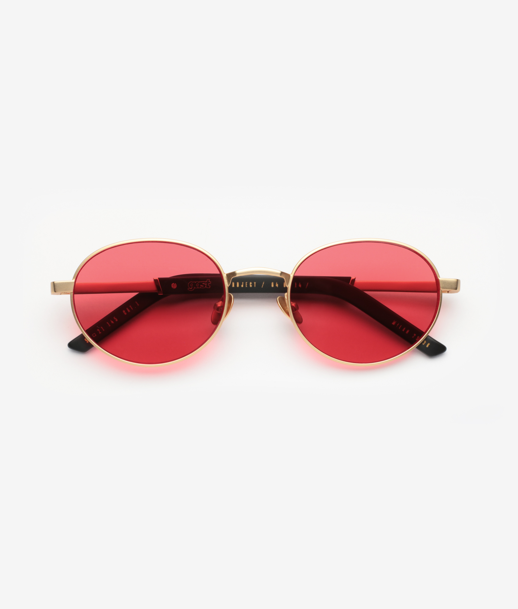 Salin Matte Gold Gast Sunglasses